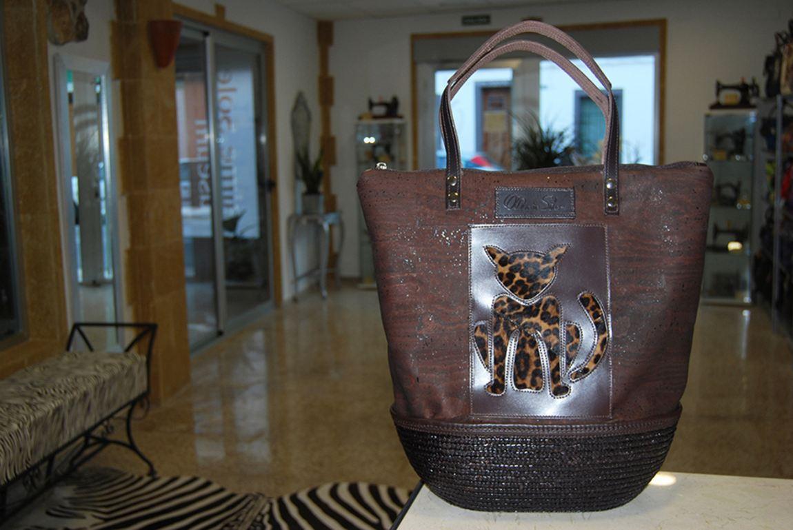 Foto Sisal-Cork Bag by MARIA SOLER